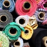 Stoffe auf dem Türkenmarkt