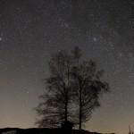 Milchstraße mit mehr Baum