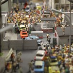 Miniature Fall of the Berlin Wall
